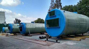 某国际工程公司采购一批一体化泵站设备