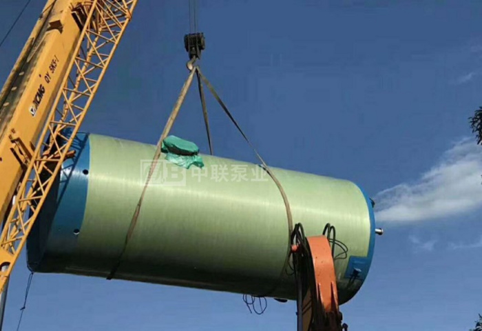 贵州某生态工程公司采购一体化泵站设备