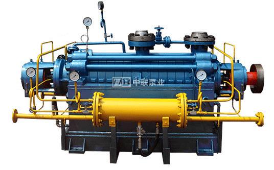 DG(P)型自均衡锅炉给水泵带冷却安装