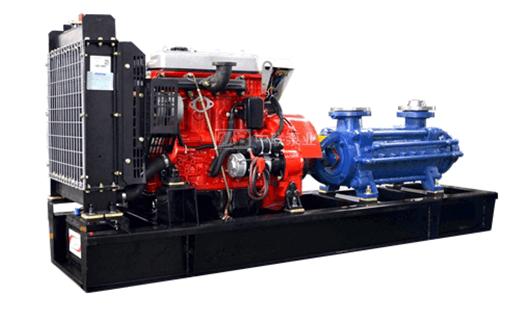 柴油机多级水泵机组