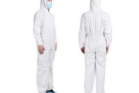 65gsm personal protective coveralls non woven fabric for protection suit isolation gown