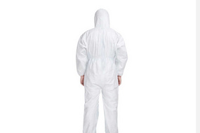 Wholesale chemical protective safety clothing suit is designed in accordance with the actual application environment.The cuffs of the products are elastically designed to make them more secure and pro