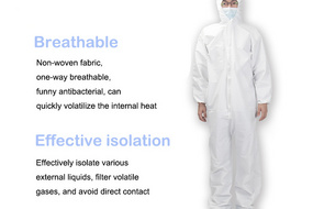 Factory Stock SF-63 Disposable Protective Clothing