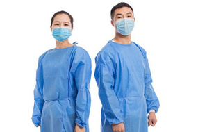 Disposable isolation gown ppe hospital surgical gown