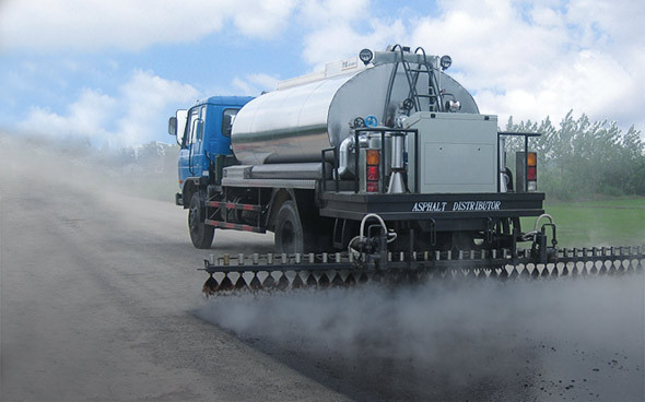 Asphalt emulsification