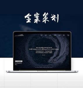 品牌网站全案策划