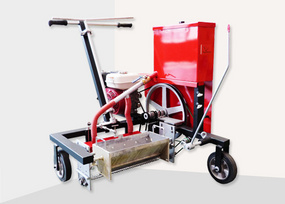 TT-BFFL Self-propelled structural type two-component road marking machine