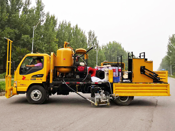 TT-ZCP Series Truck Mounted Two Component Road Marking Machine