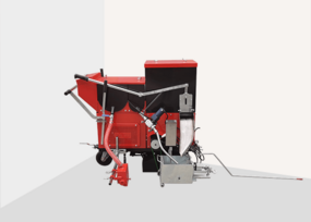 TT-FFL series Self-propelled multi-functional two-component road marking machine