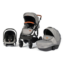 Jolilee Factory 3-in-1 car seat travel system luxury 3 in 1 baby stroller