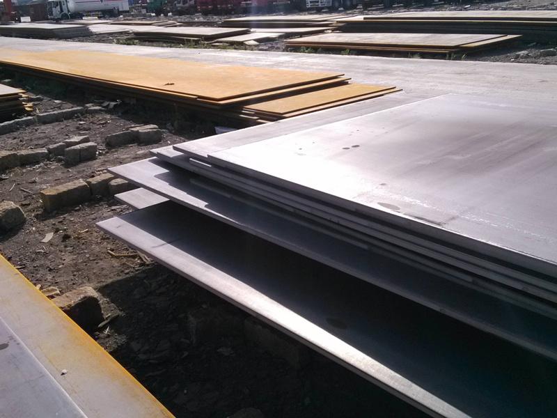 JIS SB410 pressure vessel steel sheet 5cm plate cutting