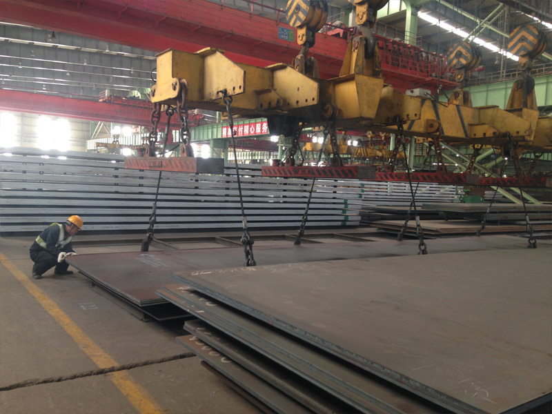 Steel SG295 Plate yield strength