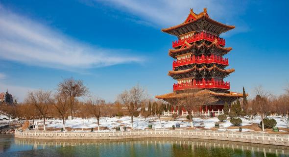 Qingming river garden