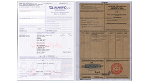 Documents confirmation