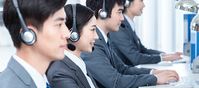 100+在线咨询服务团队,随时随地为客户提供服务