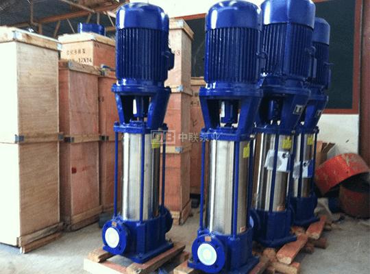 <b>DLR系列立式热水管道多级离心泵</b>