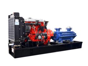 一体化柴油机多级离心泵机组
