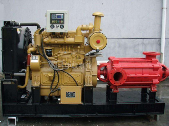 <b>矿山排水用高压多级柴油机水泵机组</b>