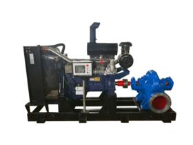 中开式离心泵柴油机水泵机组