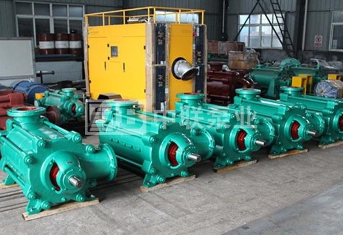 <b>泊头市某达纸业采购中联泵业MD50-30x8型卧式耐磨多级离心泵</b>