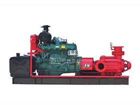 应急发电排水一体化柴油机多级泵机组