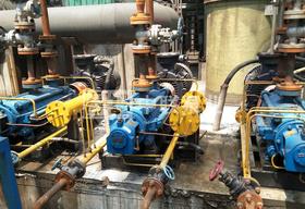 <b>吉林省双辽电厂选购中联泵业DGP型自平衡锅炉给水泵</b>