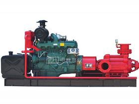 矿山排水用高压多级柴油机水泵机组