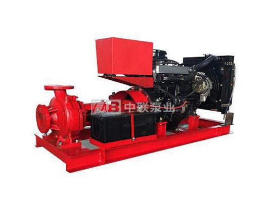<b>XBC型消防用多级柴油机水泵机组</b>