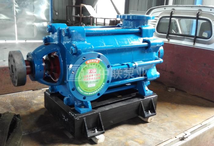 <b>广东顺德水处理订购2台中联泵业卧式清水多级泵</b>