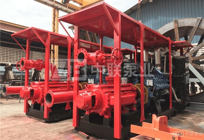 <b>印尼海上油田船用海水淡化自平衡多级泵</b>