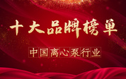 "<b>长沙中联泵业喜获""2020年度中国离心泵行业十大品牌""第三名</b>"