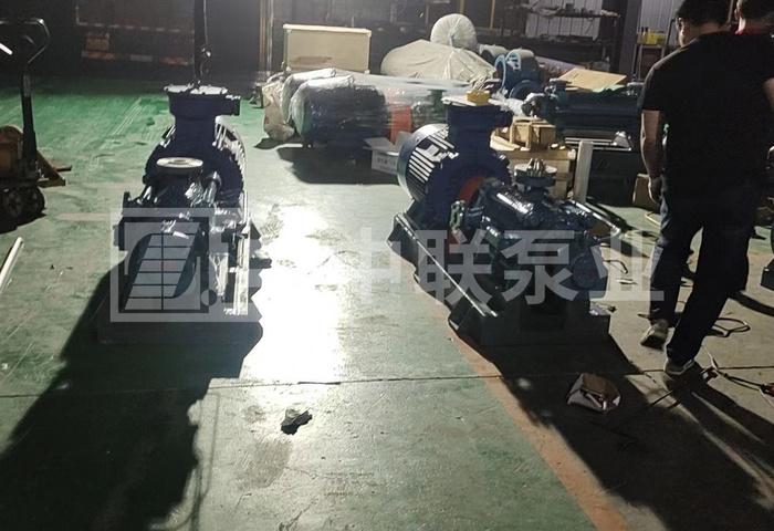 <b>江苏某集团公司的2台自平衡多级泵下线啦!</b>