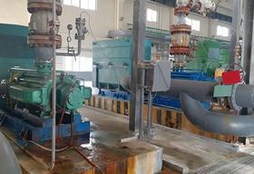 <b>成都盛泰资源采购4台中联泵业4台我公司生产的DFP120-50X6型耐腐蚀自平衡多级离心泵</b>