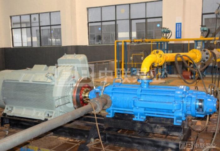 <b>中铁集团矿业某采矿项目采用长沙中联泵业MDP200-80x10型自平衡矿用多级泵</b>