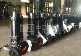 <b>江西李总采购长沙中联泵业QW型无堵塞排污泵4台</b>