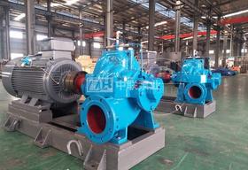 <b>上海东方泵业采购长沙中联泵业自主开发产品DK型多级中开泵</b>