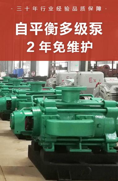 自平衡多级泵结构优势
