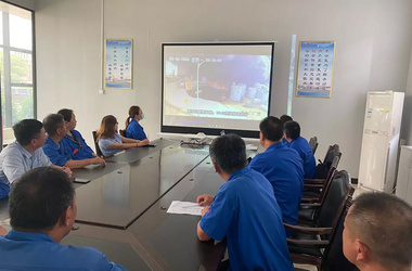 DEAR air separation held a safety warning education training meeting