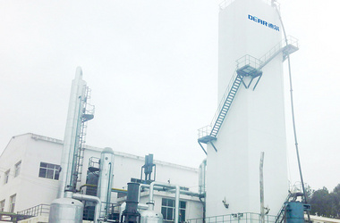 Small air separation plant