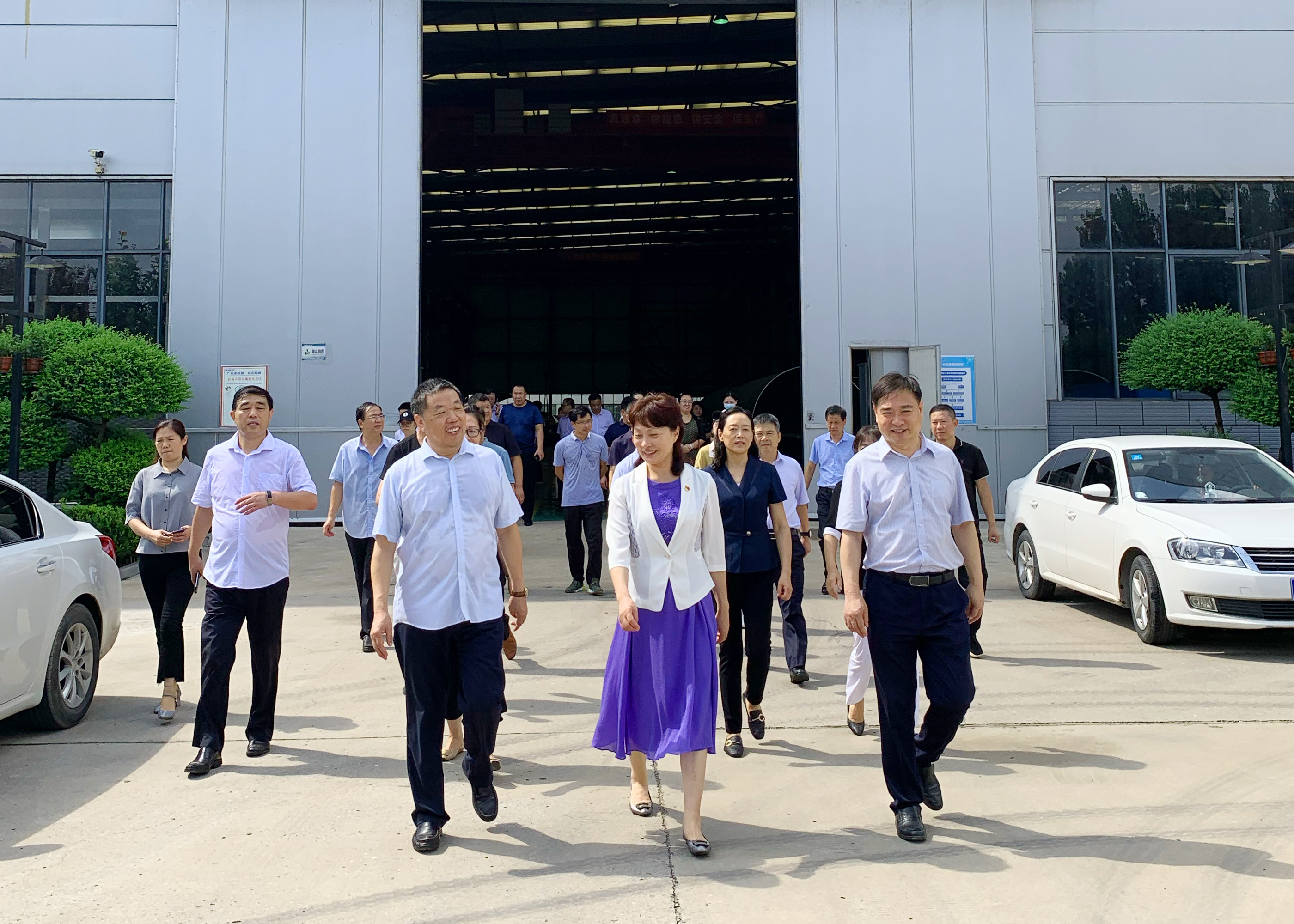 Kaifeng Political Consultative Committee members visit DEAR air separation