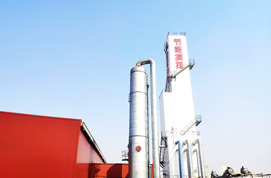 Distillation tower for air separation plant KDON-8300-8000