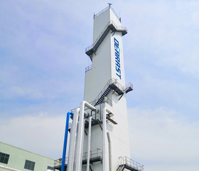 Large air separation plant KDON (Ar)-30000/70000-900