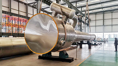 Production process and assembly of DEAR air separation unit factory