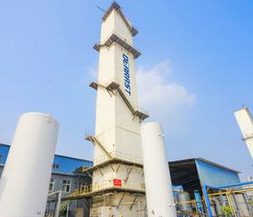 Large complete air separation plant KDON(Ar)-15000/15000-520
