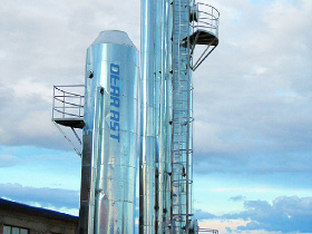 Biogas purification