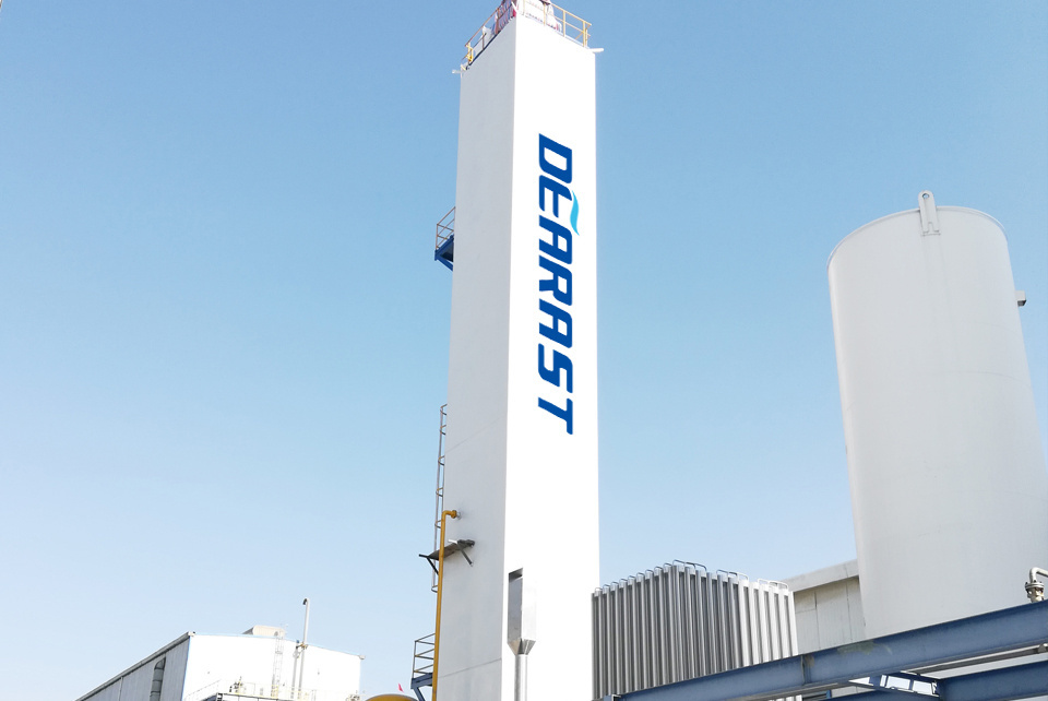 High purity nitrogen air separation