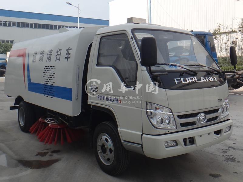 江苏苏州某物业公司订购的一批扫路车洒水车于已发车