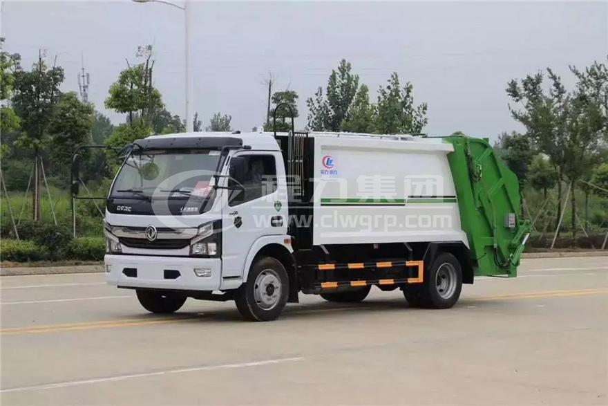 <b>東風凱普特【5噸】垃圾壓縮車</b>
