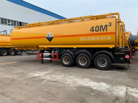 LPG Semi-trailer 50CBM 3Axles