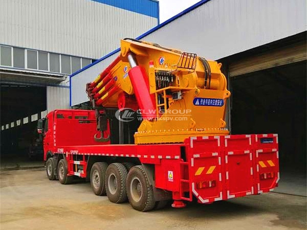 HOWO truck mounted crane-80T-slewing